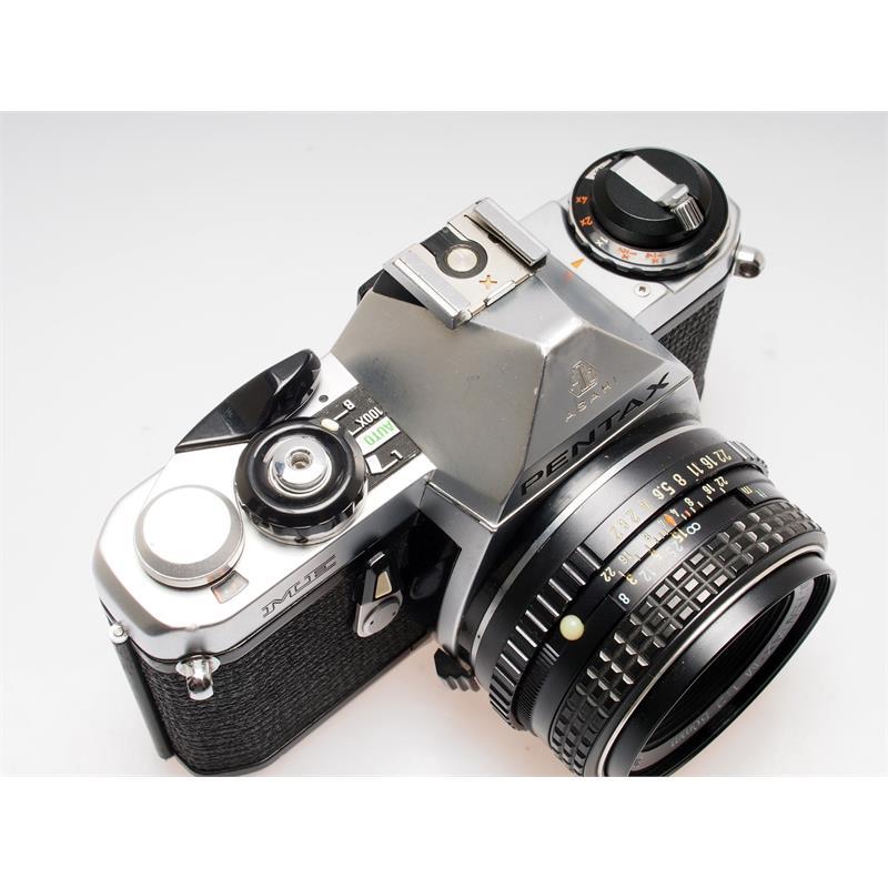 Pentax ME Chrome + 50mm F2 Thumbnail Image 1