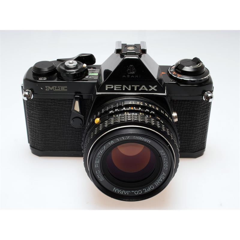 Pentax me black + 50mm f1.7 Thumbnail Image 0