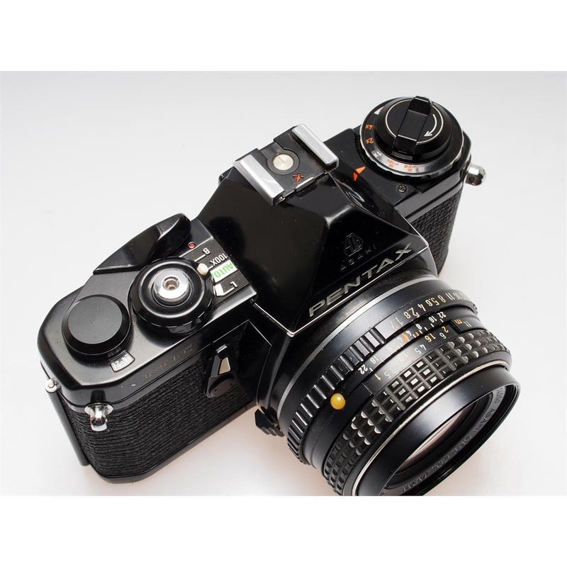 Pentax me black + 50mm f1.7 Thumbnail Image 1