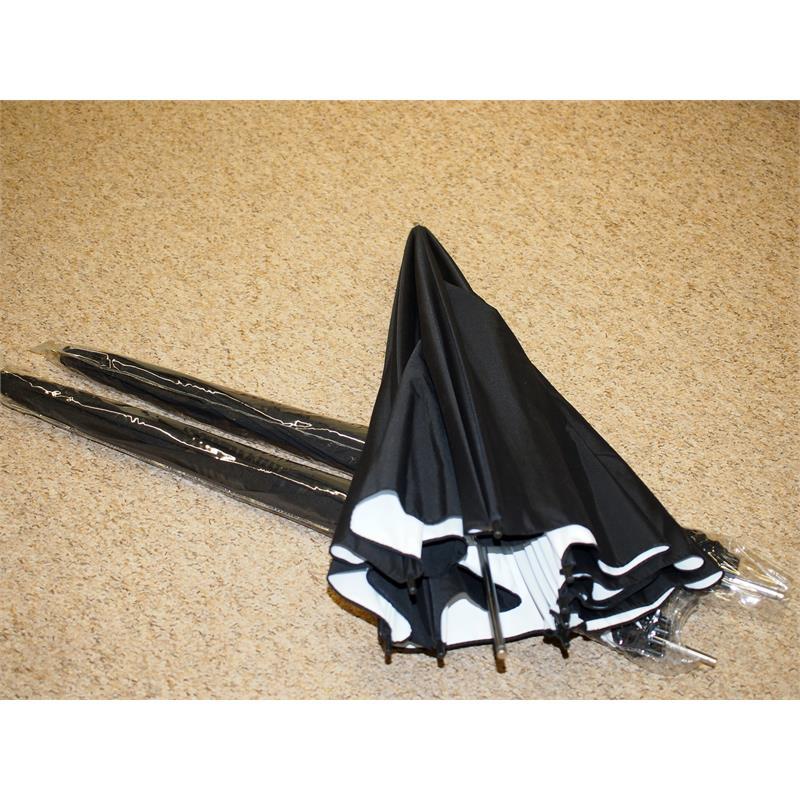 Viewfinder Photography 3x Reflective Umbrellas 110cm Thumbnail Image 1