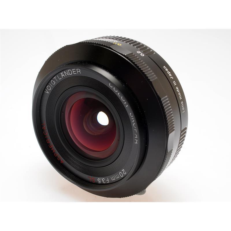 Voigtlander 20mm F3.5 SLII Asph - Canon EOS Thumbnail Image 0