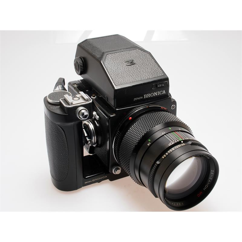 Bronica ETRS Complete + Prism + Speedgrip Thumbnail Image 0