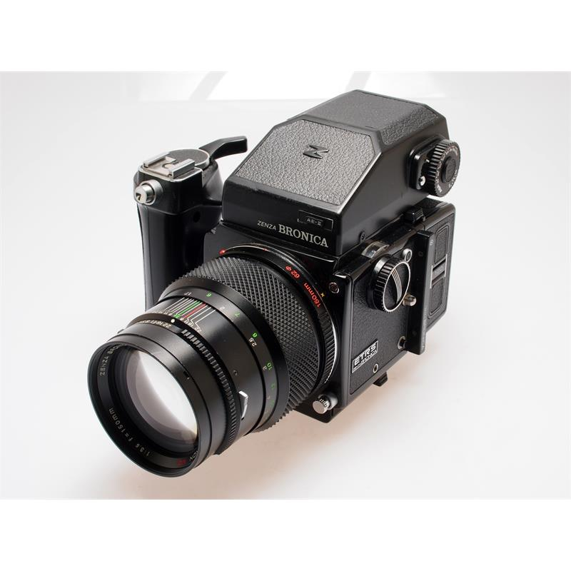 Bronica ETRS Complete + Prism + Speedgrip Thumbnail Image 1