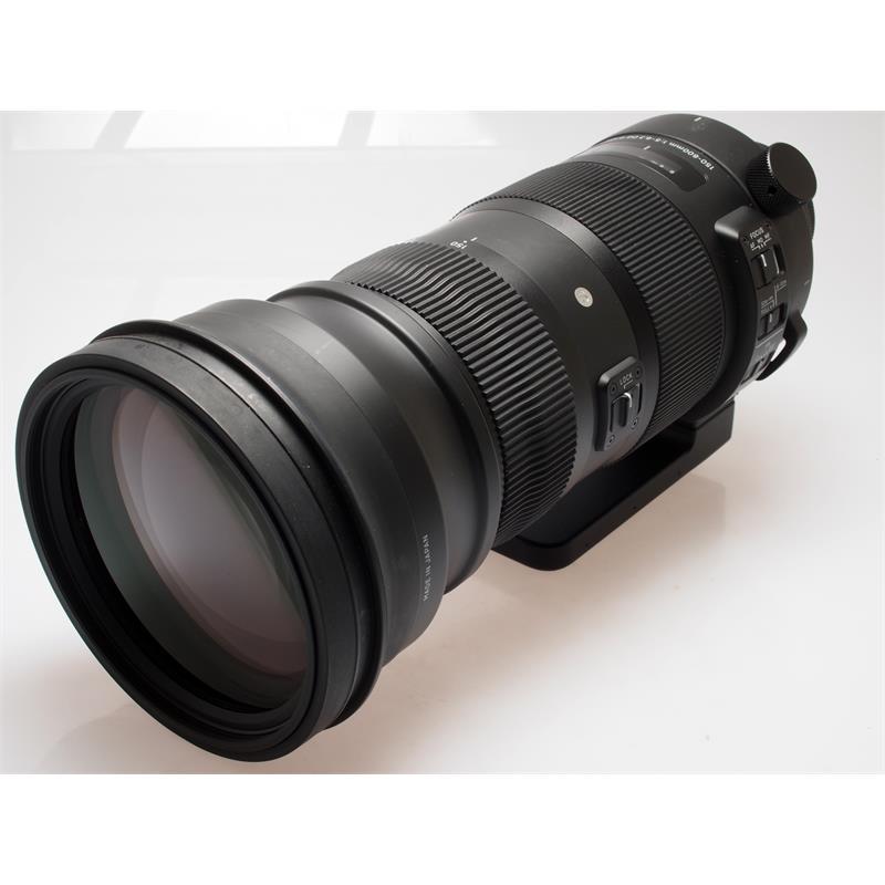 Sigma 150-600mm F5-6.3 DG OS HSM Sport - Nikon Thumbnail Image 0