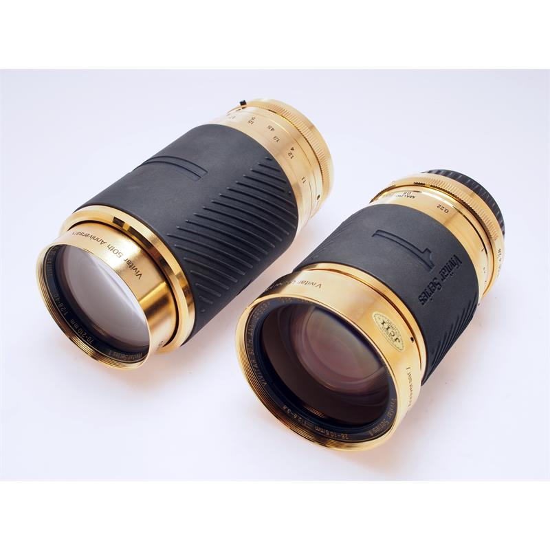 Vivitar 28-105mm + 70-210mm Series 1 Gold Limite Thumbnail Image 1
