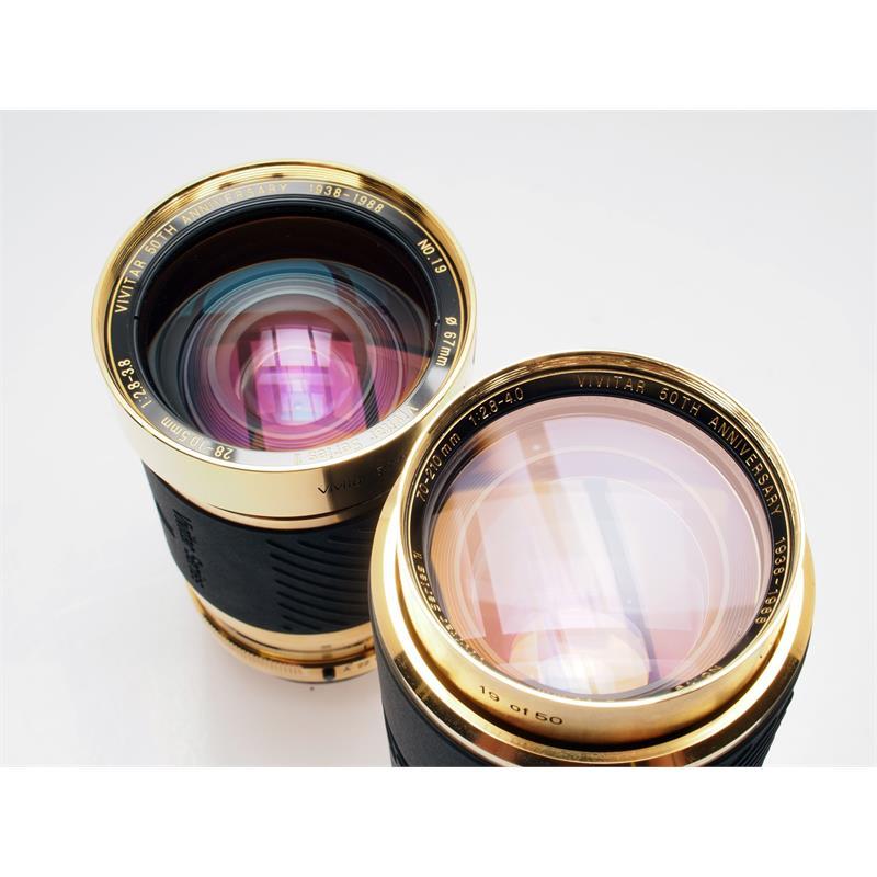 Vivitar 28-105mm + 70-210mm Series 1 Gold Limite Thumbnail Image 2