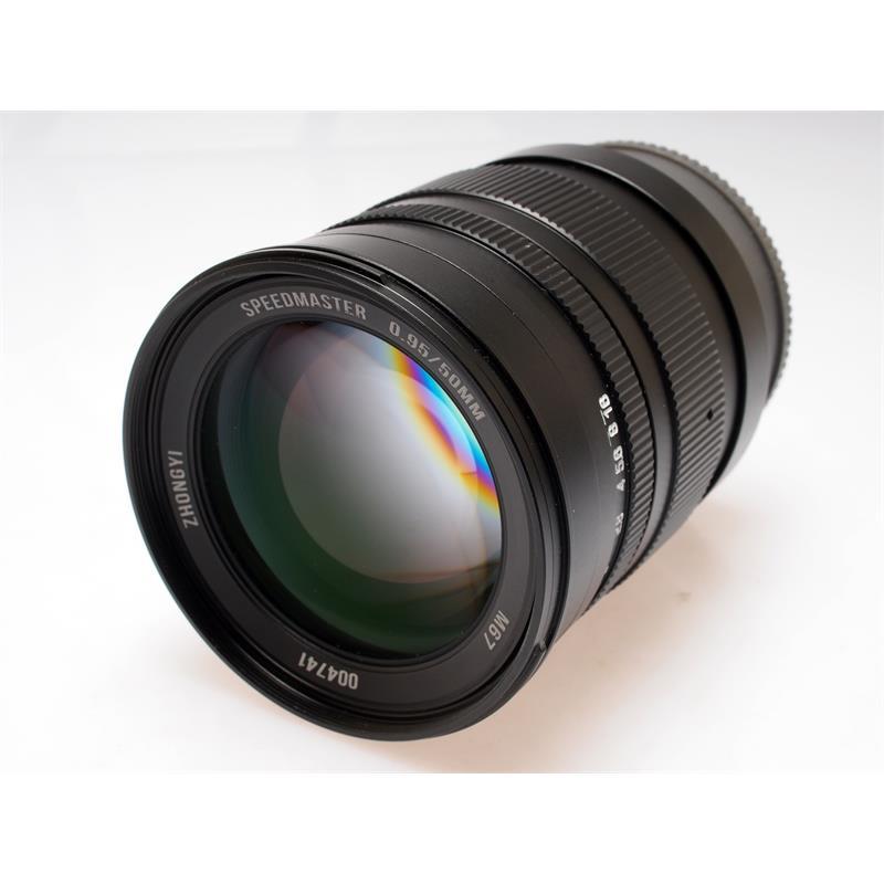 50mm F0.95 Speedmaster - Sony E Thumbnail Image 0