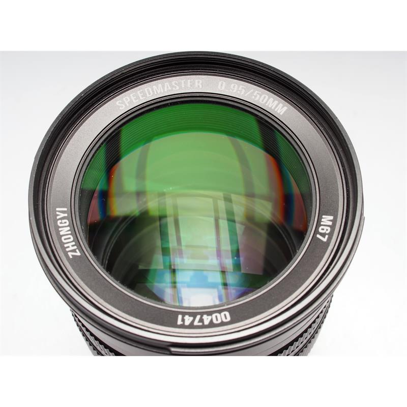 50mm F0.95 Speedmaster - Sony E Thumbnail Image 1
