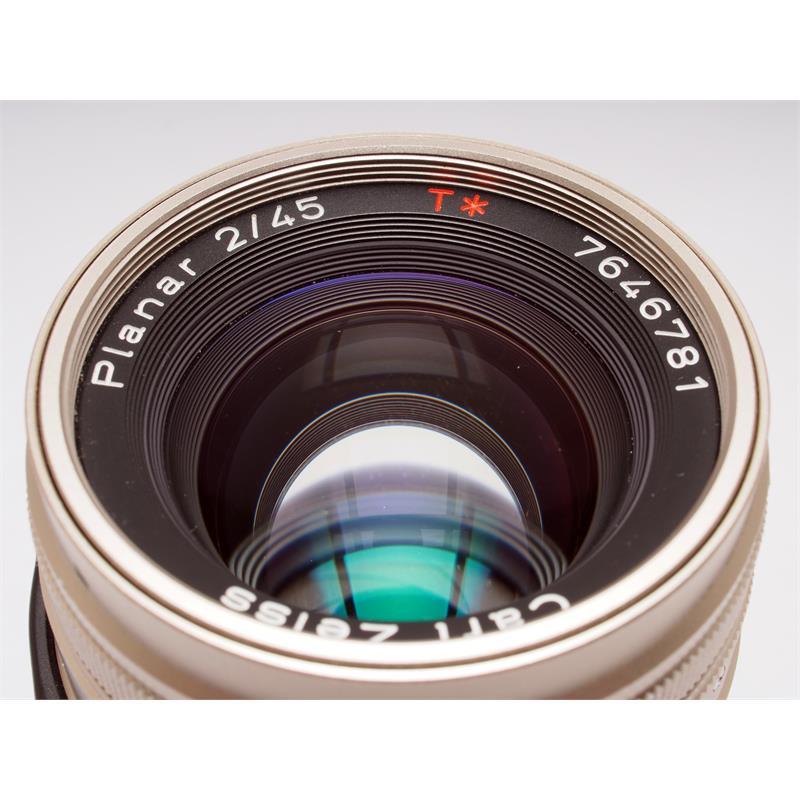 Contax 45mm F2 G - planar Thumbnail Image 1