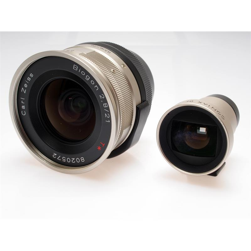 Contax 21mm F2.8 G + Finder Thumbnail Image 0