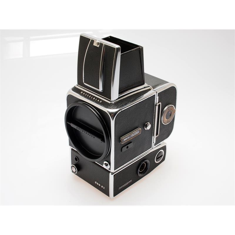 Hasselblad 500EL Body + WLF + A12 Mag Thumbnail Image 1