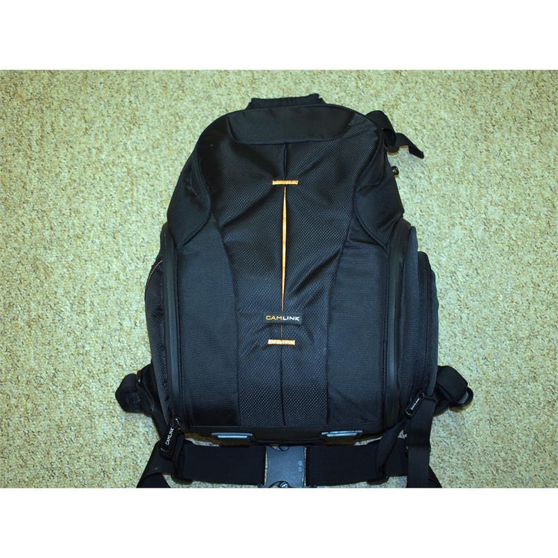 Camlink Medium Backpack - Black Thumbnail Image 0