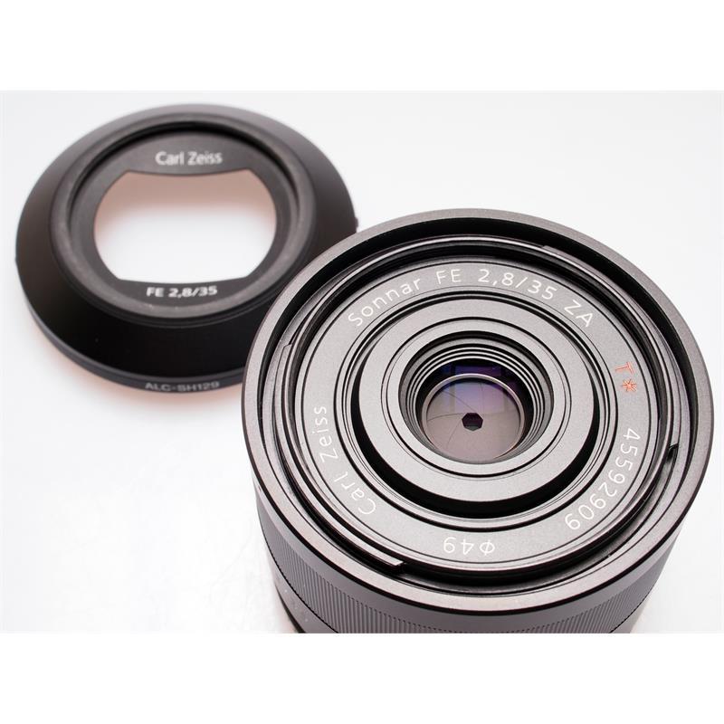 Sony 35mm F2.8 FE ZA Thumbnail Image 1