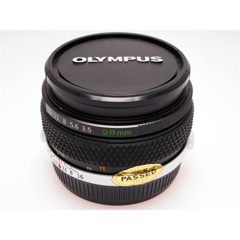 Olympus 28mm F3.5 Zuiko Thumbnail Image 0