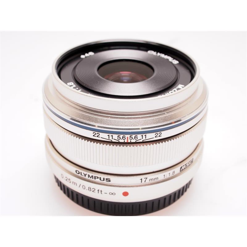 Olympus 17mm F1.8 M.Zuiko Silver Thumbnail Image 0