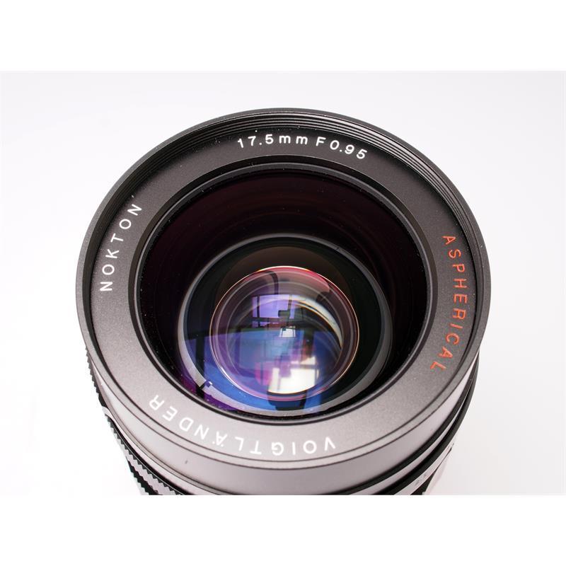 Voigtlander 17.5mm F0.95 Asph Thumbnail Image 1