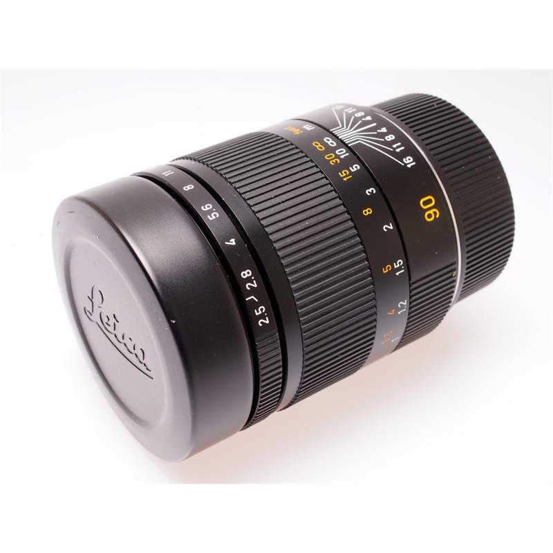 Leica 90mm F2.5 M Black 6bit Thumbnail Image 0