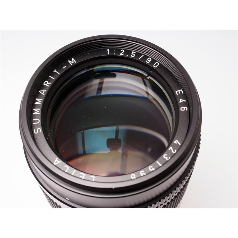 Leica 90mm F2.5 M Black 6bit Thumbnail Image 1