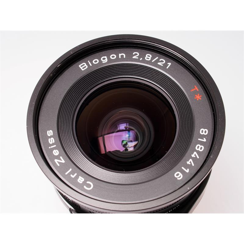 Contax 21mm F2.8 G + Finder - Black Thumbnail Image 1