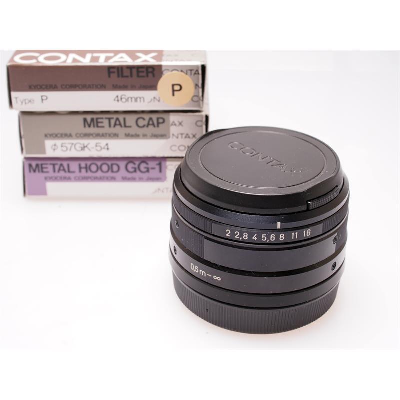Contax 35mm F2 G Black Set Thumbnail Image 0