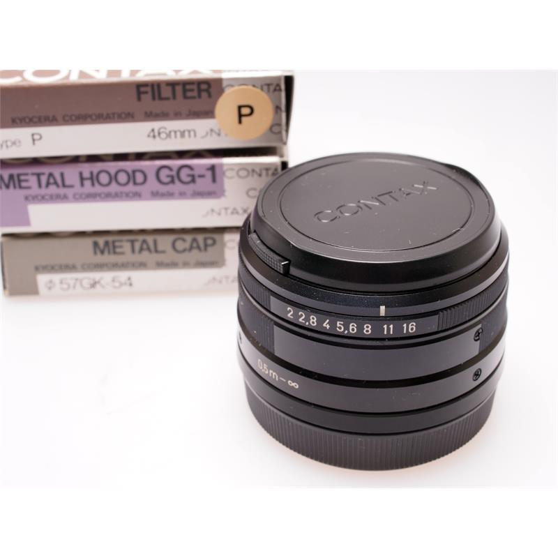 Contax 35mm F2 G Black Set Thumbnail Image 3