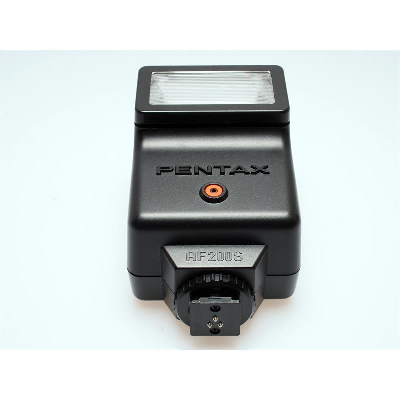 Pentax ME-Super Chrome Body + AF200S Flash Thumbnail Image 5