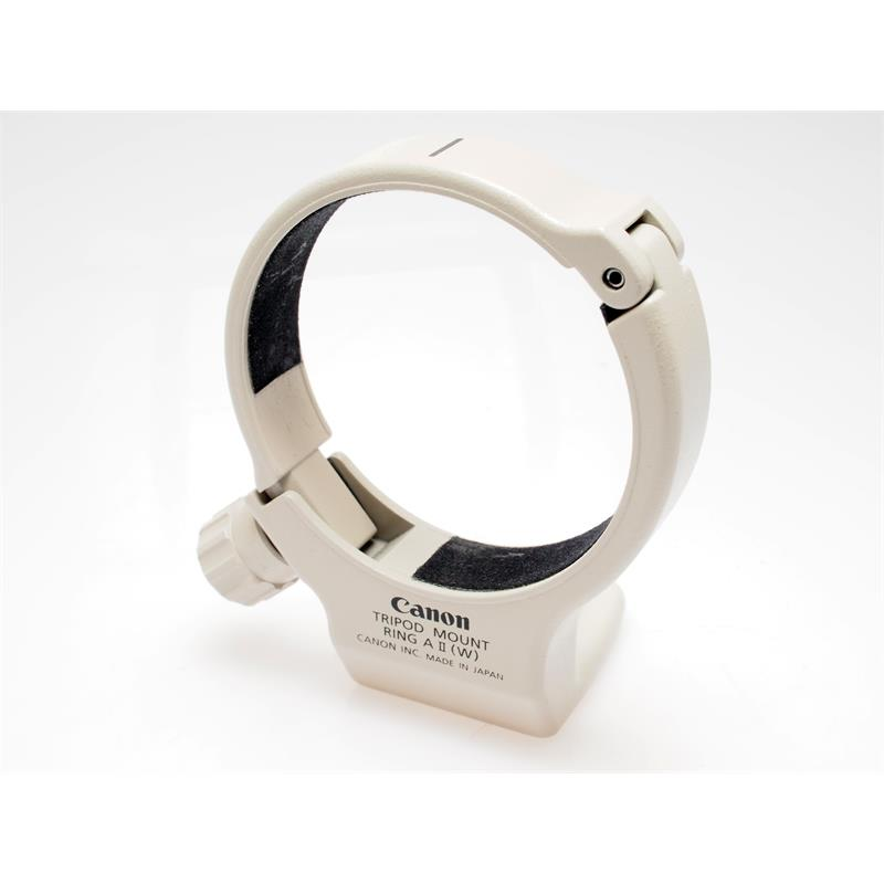 Canon Tripod Mount Ring AII (W) Thumbnail Image 0