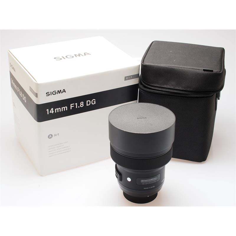 Sigma 14mm F1.8 DG HSM Art - Nikon AF Thumbnail Image 0