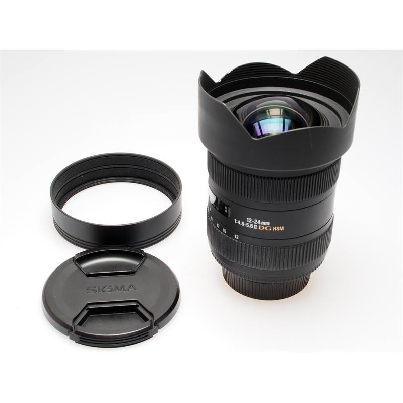 Sigma 12-24mm F4.5-5.6 EX DG HSM - Nikon AF Thumbnail Image 0