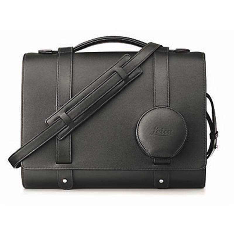 Leica Day Bag Q - Black Leather Thumbnail Image 0