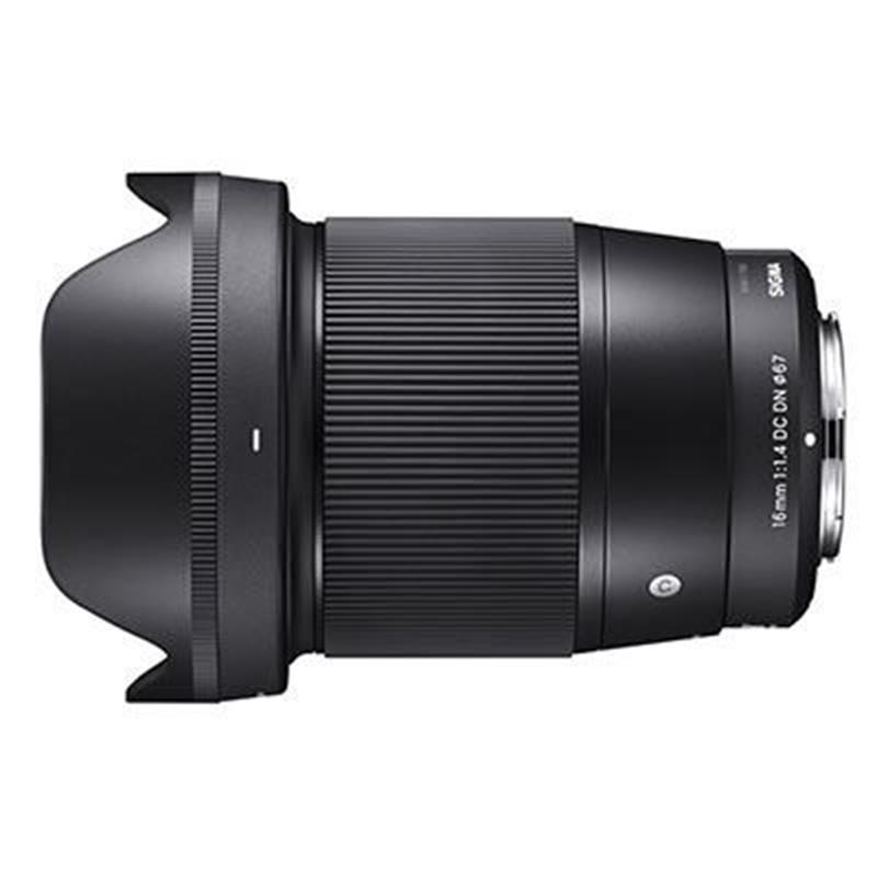 Sigma 16mm F1.4 DN C - Black - Micro 4/3rds Image 1