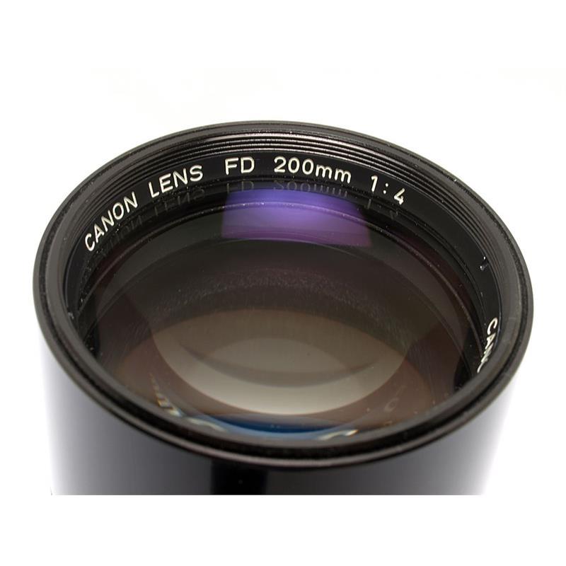 Canon 200mm F4 FD Thumbnail Image 1