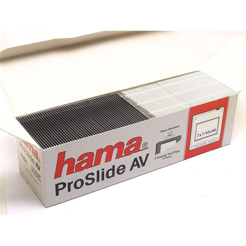Hama Proslide AV 6x4.5cm Slide Mounts (50) 11 Image 1
