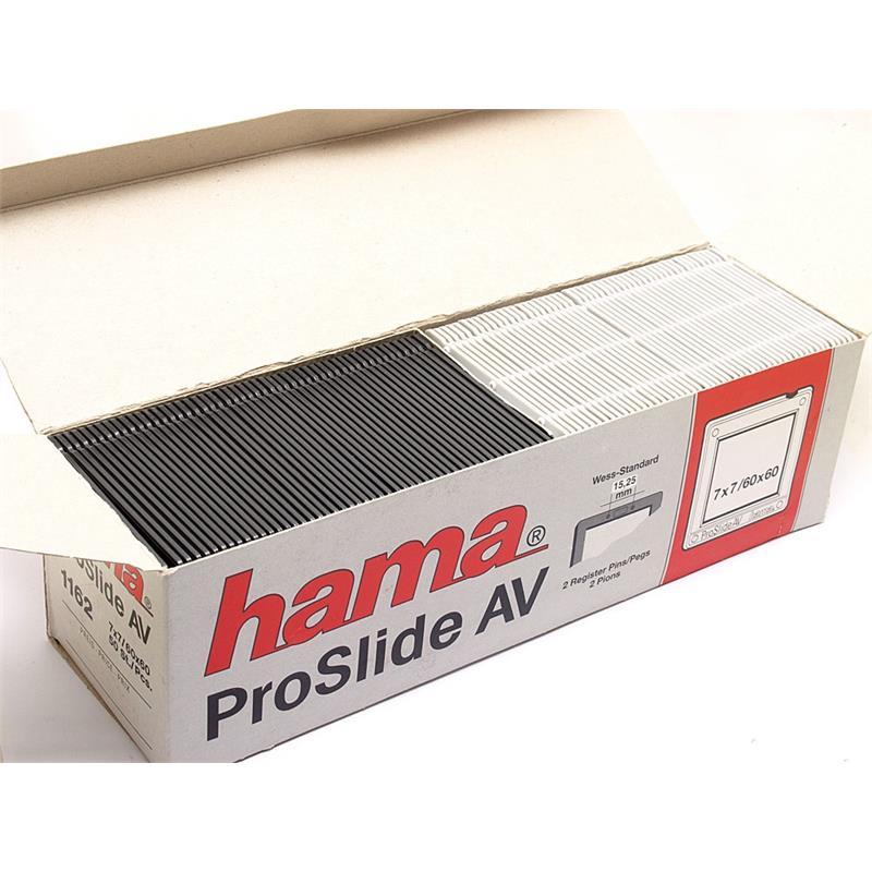 Hama Proslide AV 6x6cm Slide Mounts (50) Image 1