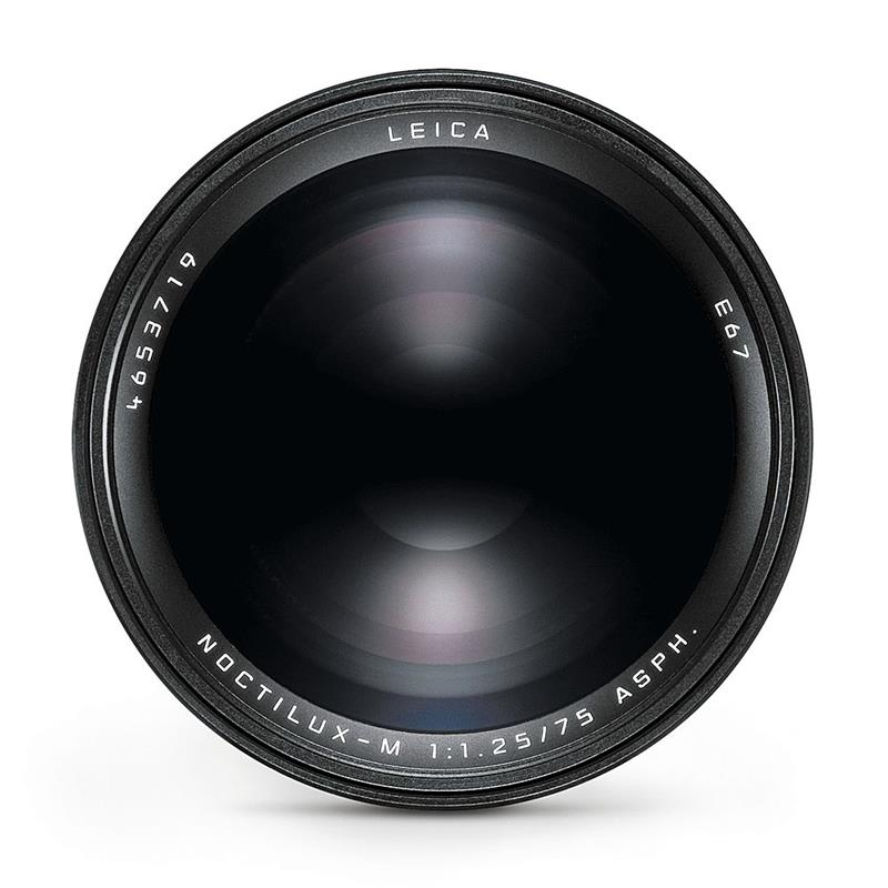Leica 75mm F1.25 Asph Noctilux M - Black Thumbnail Image 1