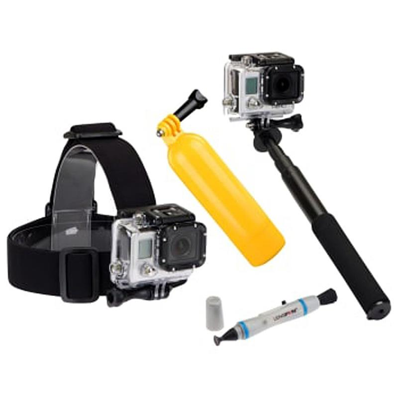 Sunpak Action Camera 4 Piece Accessory Kit II Image 1