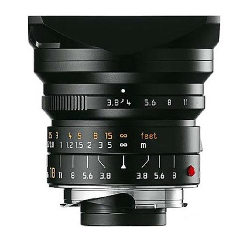 Leica 18mm F3.8 Asph M Black Image 1