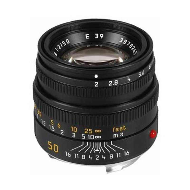Leica 50mm F2 M Black 6bit Image 1