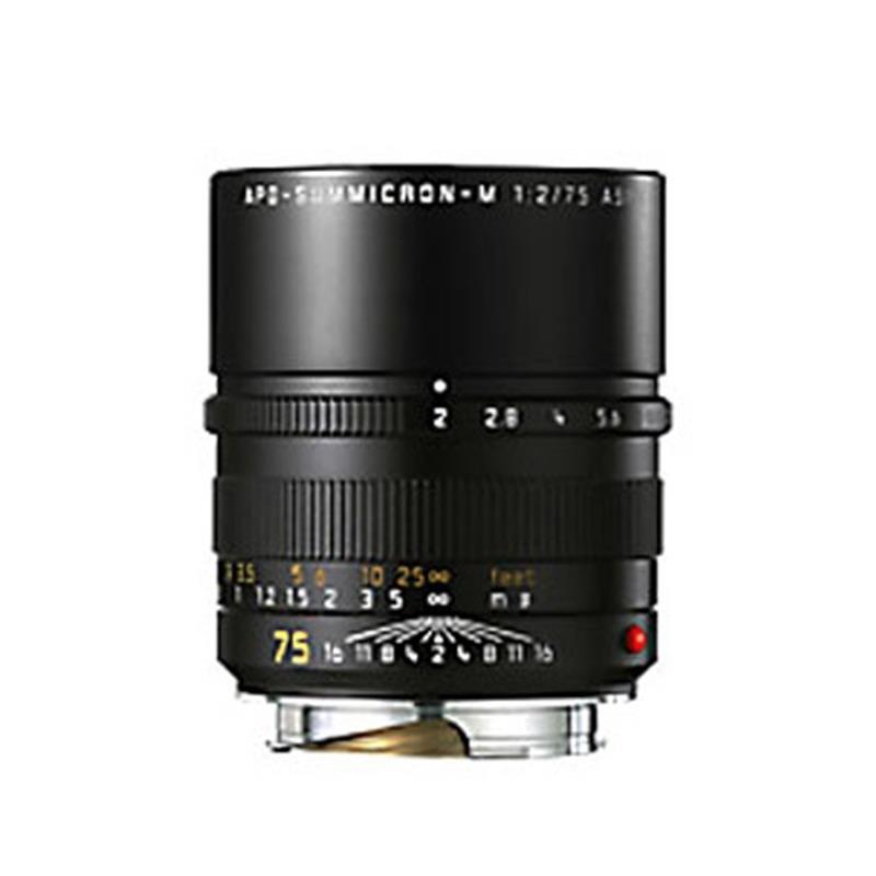 Leica 75mm F2 Apo M Black 6bit Image 1