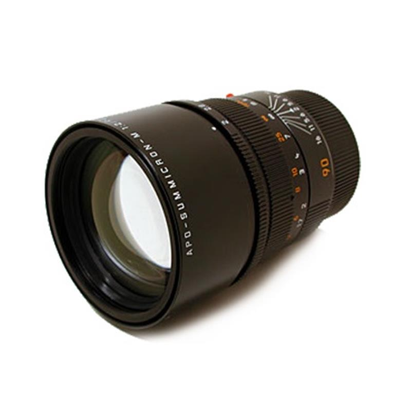 Leica 90mm F2 Apo M Black 6bit Image 1