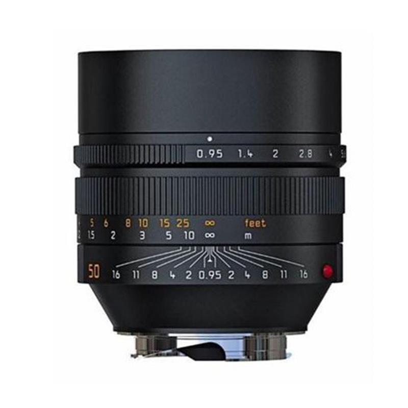 Leica 50mm F0.95 Asph M Black Image 1