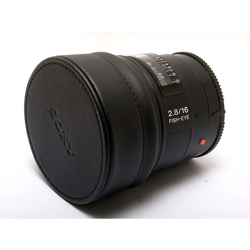 Sony 16mm F2.8 Fisheye Image 1