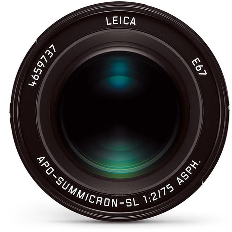 Leica 75mm F2 Apo SL - Black Thumbnail Image 1