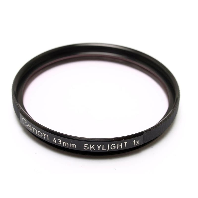 Canon 43mm Skylight  Image 1