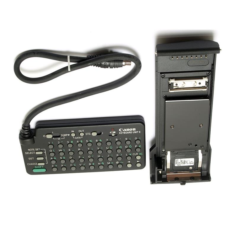 Canon Technical Back E with Keyboard Thumbnail Image 2