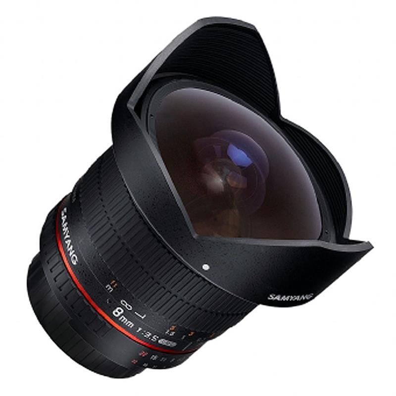 Samyang 8mm F3.5 AS IF MC Fisheye - 4/3rds Image 1