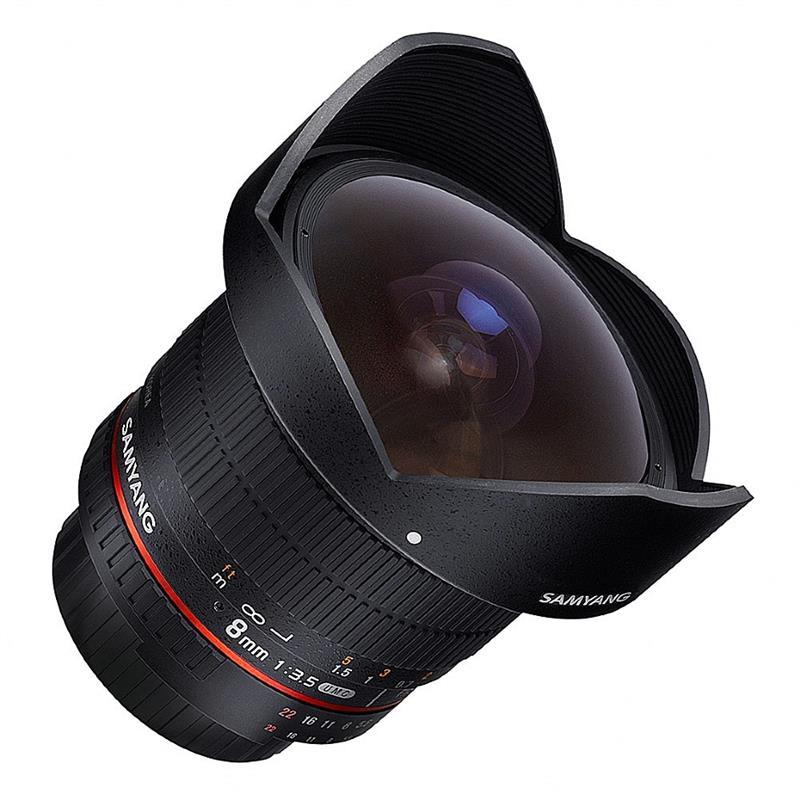 Samyang 8mm F3.5 IF UMC CS II Fisheye - Pentax AF Image 1