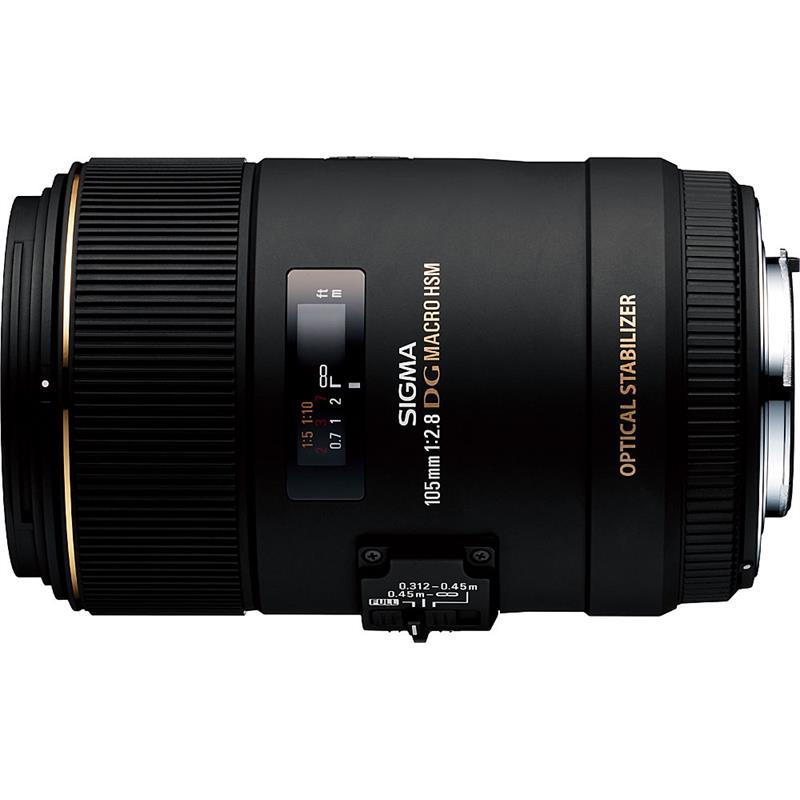 Sigma 105mm F2.8 Macro EX DG OS HSM - Canon EOS Image 1