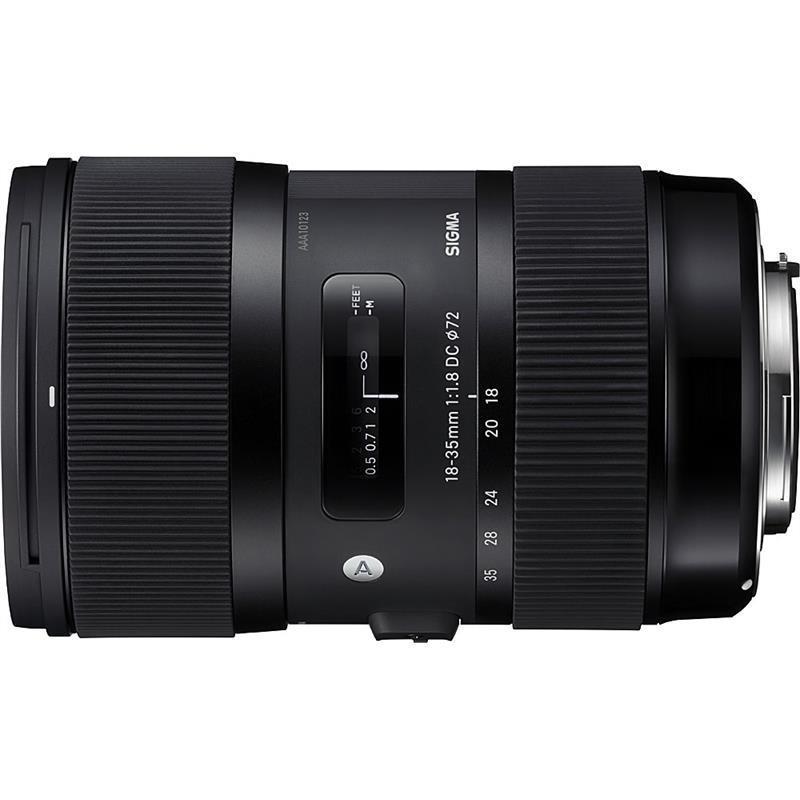 Sigma 18-35mm F1.8 DC HSM - Canon EOS Thumbnail Image 0
