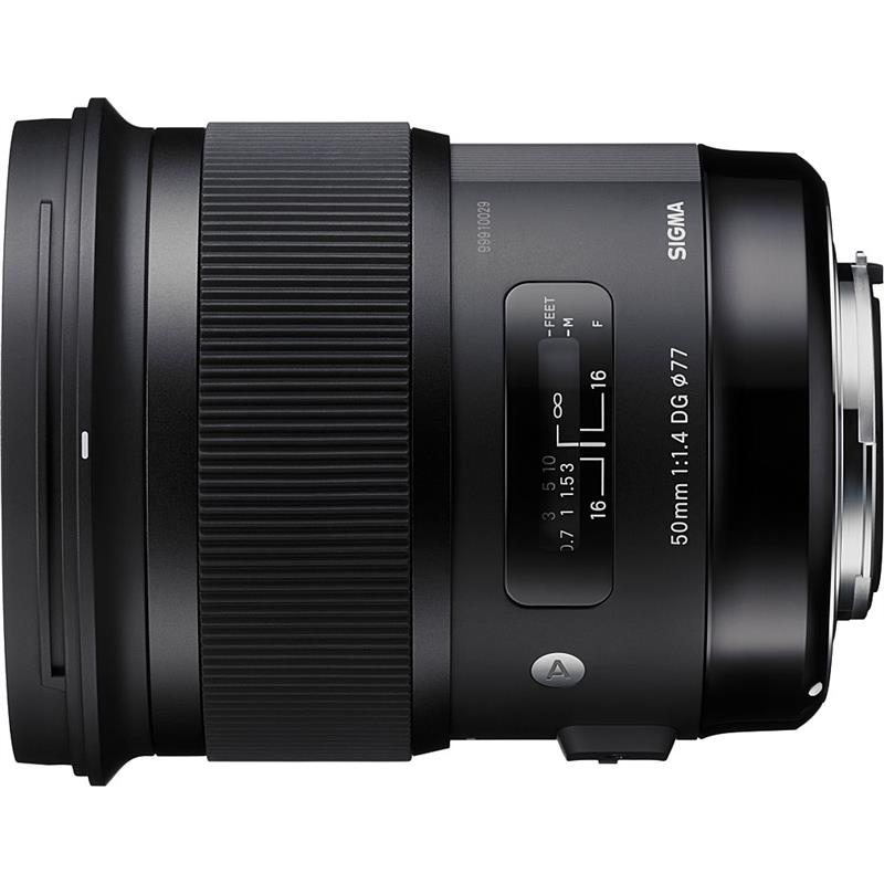 Sigma 50mm F1.4 DG HSM A - Canon EOS Thumbnail Image 0